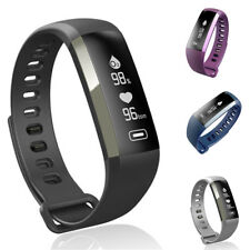 Sports Smart Watch Sleep Tracker Heart Rate Fitness Pedometer OLED Touch Screen