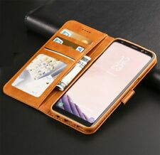 Magnetic Leather Flip Wallet Case Cover For Samsung Galaxy S8 S9 S9 Plus S7 S6