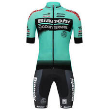 COMPLETO CICLISMO BIANCHI TEAM COUNTERVAIL 2018