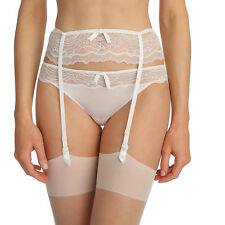 Marie Jo Eva Natural Bridal Garter Suspender Belt