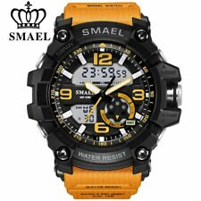 SMAEL Digital Men's Quartz Sports Watches Luxury LED Military Male Gifts For Him
