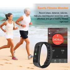 Diggro Bluetooth Smart Bracelet Wristband Fitness Tracker Heart Rate Monitor GYM