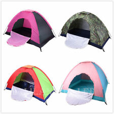 Camping Tent 1-2 Person Man Family Travel Dome Waterproof Festival Hiking Tents