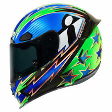 Icon Airframe Pro Warbird Full Face Motorcycle Motorbike Helmet - Blue