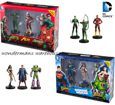 Eaglemoss Masterpiece Collection - Justice League 3 pack action figures - New