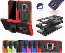 Galaxy S9 Plus Case - Shockproof Rugged Hybrid Armor Bumper Tough Stand Cover