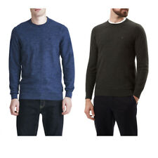 Lyle & Scott Men's Boiled Wool Merino Crew Neck Sweater Jumper