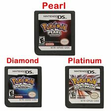For NDS 3DS DSI LITE POKEMON Platinum Pearl Diamond Version Game Card (3 Types)