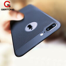 Heat Dissipation Phone Case For iPhone X 8 7 6 s 5 5s SE Back Cover Skin Shell