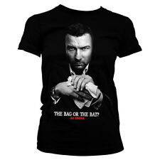 Ray Donovan - The Bag Or The Bat Official Licensed Ladies Fitted T-Shirt S-XXL