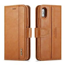 Luxury Flip Leather Wallet Stand Removable Case Cover For iPhone X XR XS/XS Max