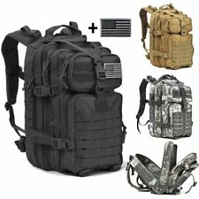 Military Tactical Backpack Camping Hiking Outdoor Trekking Bag 34L Travel