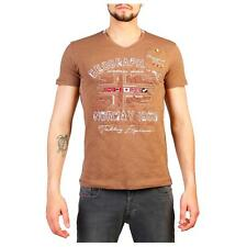 Geographical Norway Jouri T-shirts Brown