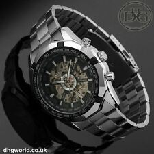 T-Winner Automatic Self Winding Mechanical Mens / Gents Watch - Stainless Steel