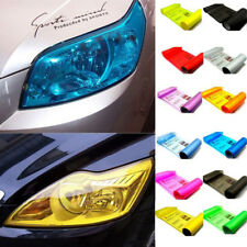 Auto Sticker Smoke Fog Light HeadLight Car Taillight Tint Vinyl Film Decal Sheet