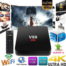 V88 Plus 4K Android 8.1 Smart TV BOX RK3229 Quad Core HD WiFi Media Player