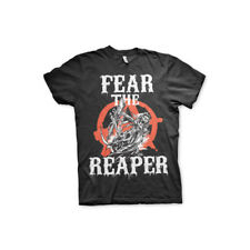 Licenza Ufficiale Sons Of Anarchy - Paura The Reaper Uomo T-SHIRT S-XXL Taglie