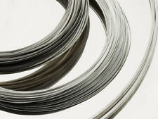 Sterling silver round wire soft 0.3 0.4 0.5 0.6 0.7 0.8 0.9 1 1.2 1.5 1.8 2mmØ.