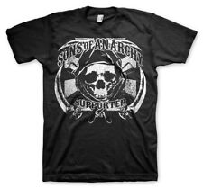 Official Licensed Sons Of Anarchy SOA - Supporter Men's T-Shirt S-XXL (Black)