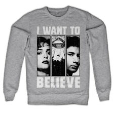 The X-Files - Mulder & Scully Official Licensed Sweatshirt, Sweater more colors