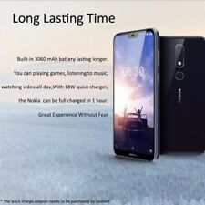 """Nokia X6 5.8"""" 4gb + 64gb 4g Smartphone Double Sim Android 8.1 Face Id 2 16mp"""