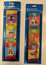 Children's Bible Card Games Choice Three Packs Or Individually Each Box 32 Cards