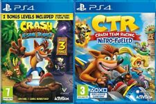 Crash Bandicoot N Sane Trilogy PS4 MINT - Same Day Dispatch - SUPER FAST DELIVER