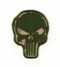 Army Tactical Morale Patch Punisher Skull Camouflage Color Biker Motorcycle