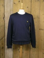 Lyle & Scott Vintage Navy Crew Neck Sweatshirt ML424VB