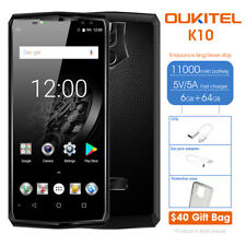"Oukitel K10 6 "" 4g Téléphone Portable 6gb 64gb Android 7.1 Octa Core 4-cameras"