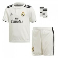 Conjunto Mini ADIDAS Real Madrid Blanco 18/19 Niño