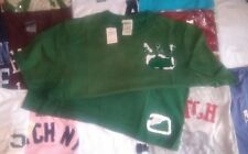 Abercrombie & Fitch mens Green T-shirt