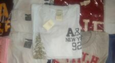 Abercrombie & Fitch mens white & tree design crew neck T-shirt New with Labels