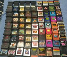 Atari 2600 VCS Game Cartridges- Cleaned, tested, working! Choose from variations