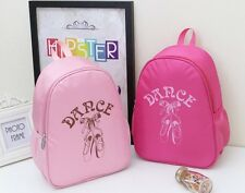 UK Seller Sale Girls Kids BALLET BAG Backpack Dance Bag Book bag Pink Rose Blue