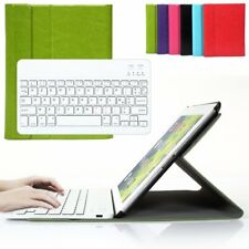 Coque Housse Clavier Bluetooth AZERTY Pour iPad 2 3 4 Keyboard vert