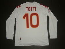 MAGLIA TOTTI-DE ROSSI AS ROMA AWAY 2007-2008 MATCH ISSUED PLAYER SHIRT tim cup