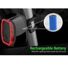 16LED USB Rechargeable Bike Tail Light Bicycle Safety Cycling Warning Rear Lamp