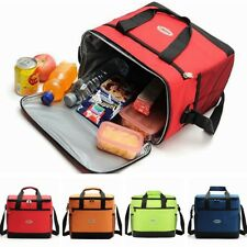Large Insulated Cooler Cool Bag Outdoor Camping Picnic Lunch Shoulder Hand Bag