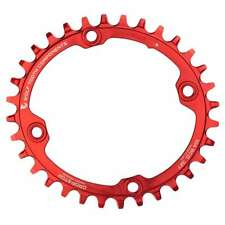 Wolf Tooth Elliptical 104 BCD Chainring - Oval 32t 34t Thick Thin Narrow Wide
