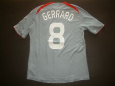 MAGLIA LIVERPOOL AWAY JOHNSON-GERRARD 2008-2009 MATCH ISSUED Champions League
