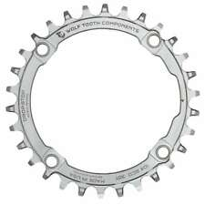 Wolf Tooth Stainless Steel Chain Ring 104 BCD - Narrow Wide Thick Thin 30t 32t