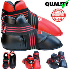 Title MMA Martial Arts Sparring Boots USSSA X-Large Karate Taekwondo Kick Boxing