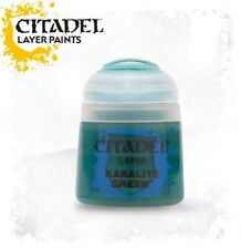 KABALITE GREEN Citadel paint colore acrilico layer 12 ml Warhammer Games Worksho