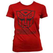 Official Licensed Transformers - Autobot Logo Girly Women's T-Shirt S-XXL
