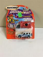 Matchbox Around The World 1/64 Scale Diecast Your Choice With Sticker And Camera