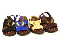New Baby Kids Boys Canvas Slippers Casual Trainers Sandals Toddler Shoes Size