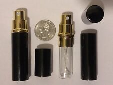 5ml Atomizador Mini Spray Perfume Colonia Botella Rellenable Viaje Aluminio