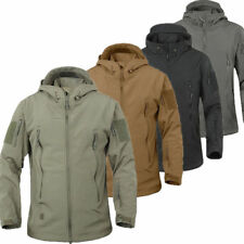 Hot TAD Hunting Outdoor Softshell Military Tactical Jacket Men Waterproof Army/.