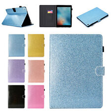 Bling Leather Magnetic Smart Card Case Stand Cover for iPad 6th Gen/Air/Pro/Mini